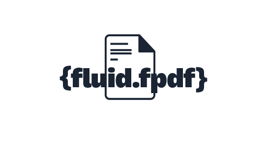 TYPO3 Fluid-FPDF: Fluid PDF ViewHelper collection based on FPDF