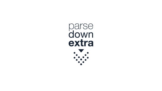 Parsedown Extra (Markdown): Render Markdown by using the Parsedown-Extra library in TYPO3.